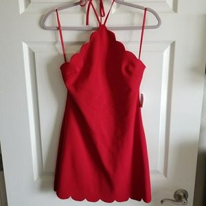 Brand new (tag attached) red cocktail dress